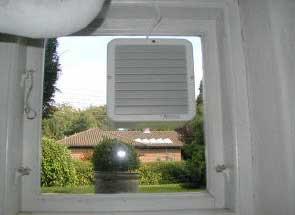 Ventilator til kælder