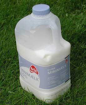 hvor meget vejer en liter mælk