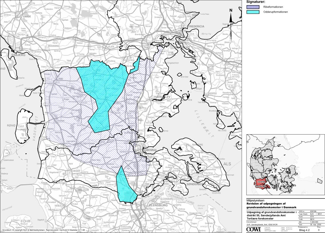 Arbejdsrapport Fra Miljostyrelsen Nr 39 2006 Udpegningen Af